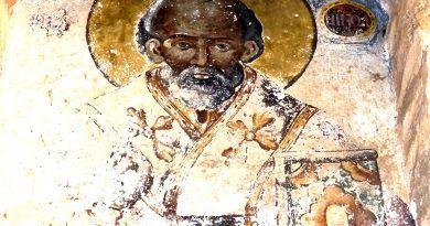 Св. Никола над западниот влез