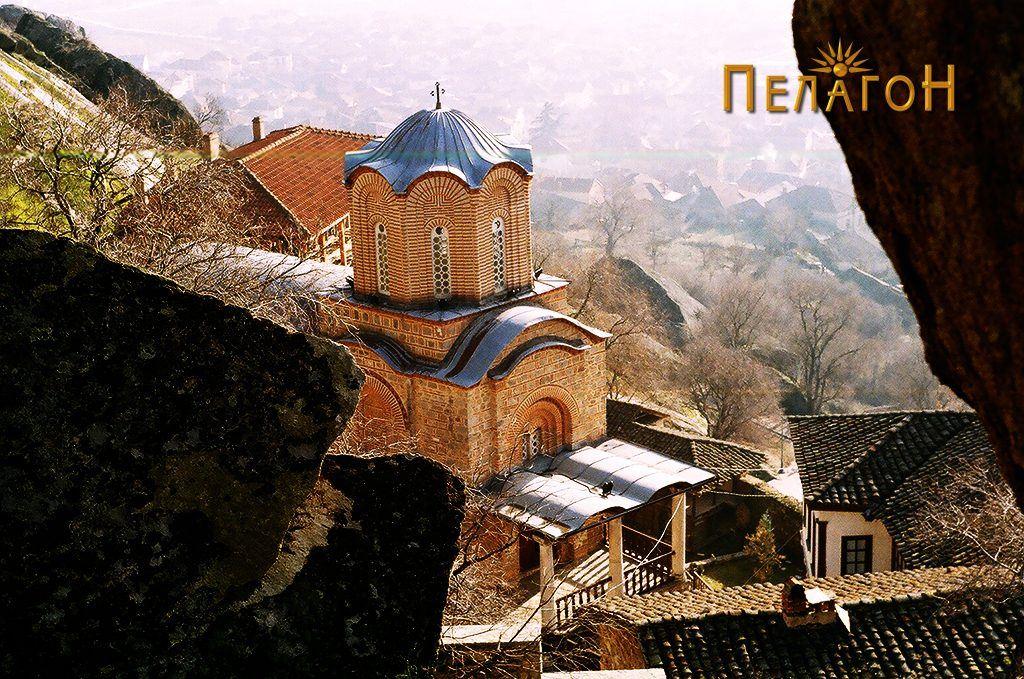 "Манастирот ""Св. Архангел Михаил"" од северозападната страна"
