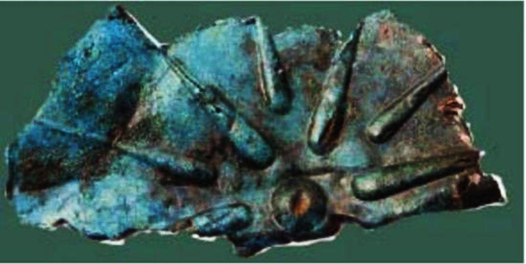 Фрагмент од еден од штитовите 1