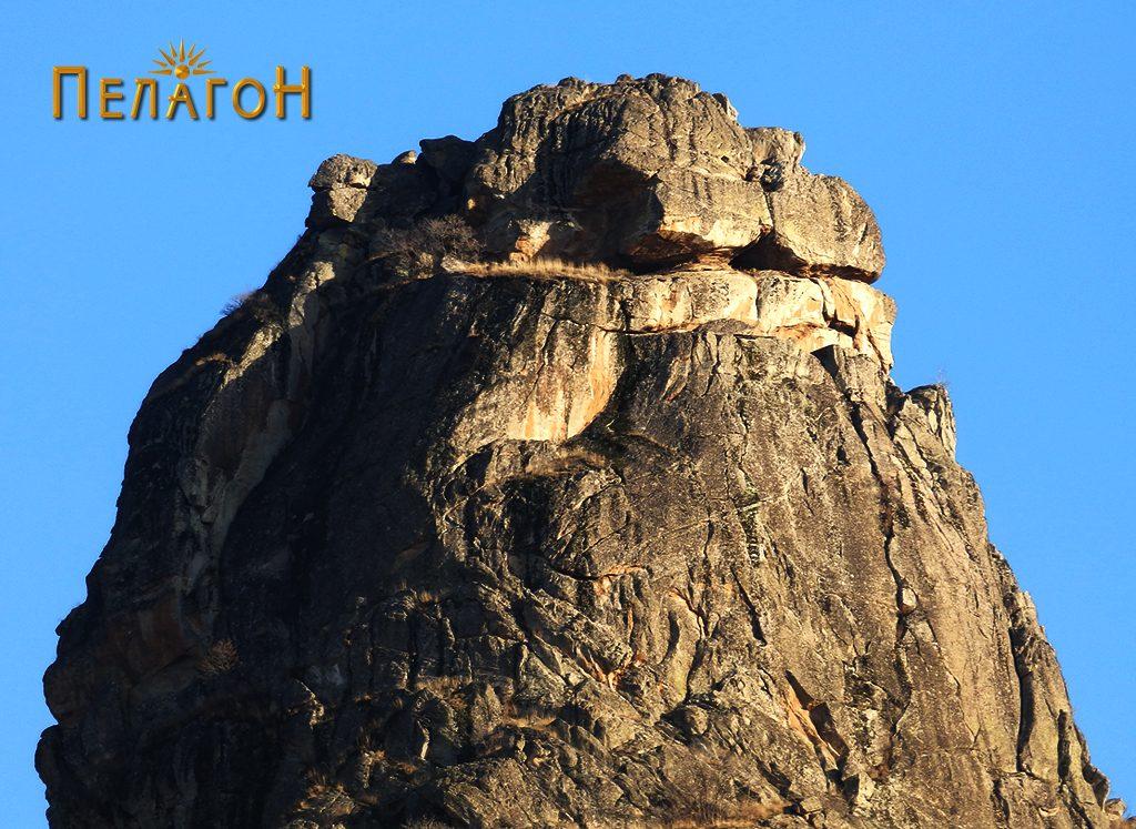 """Највисокиот дел од """"стогот"""" под кој била расположена тврдината"""