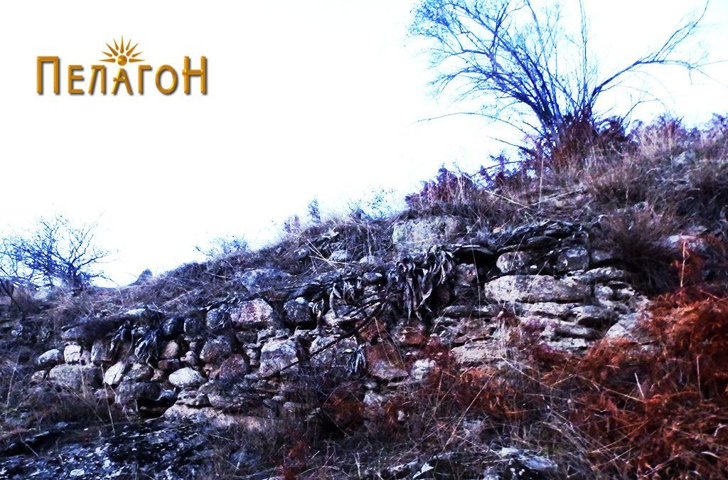 Остаток од ѕидот на тврдината 5