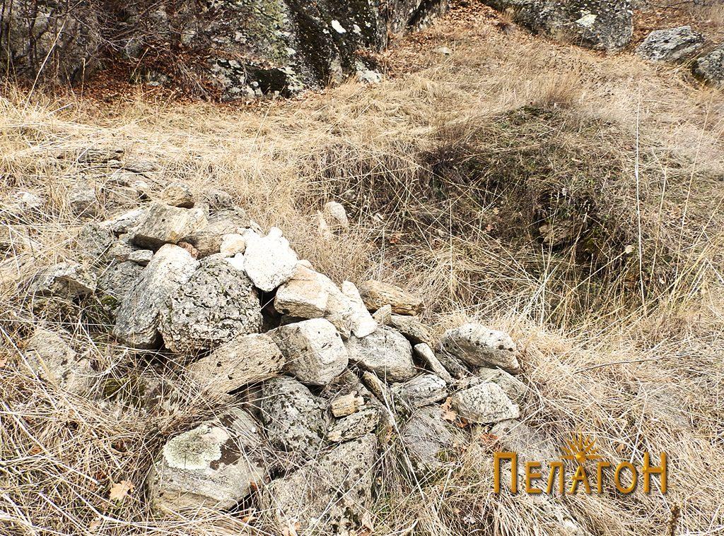 Раскопан делк на локалитетот
