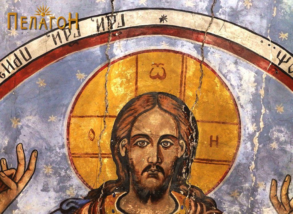 Исус Христос Седржител - детал
