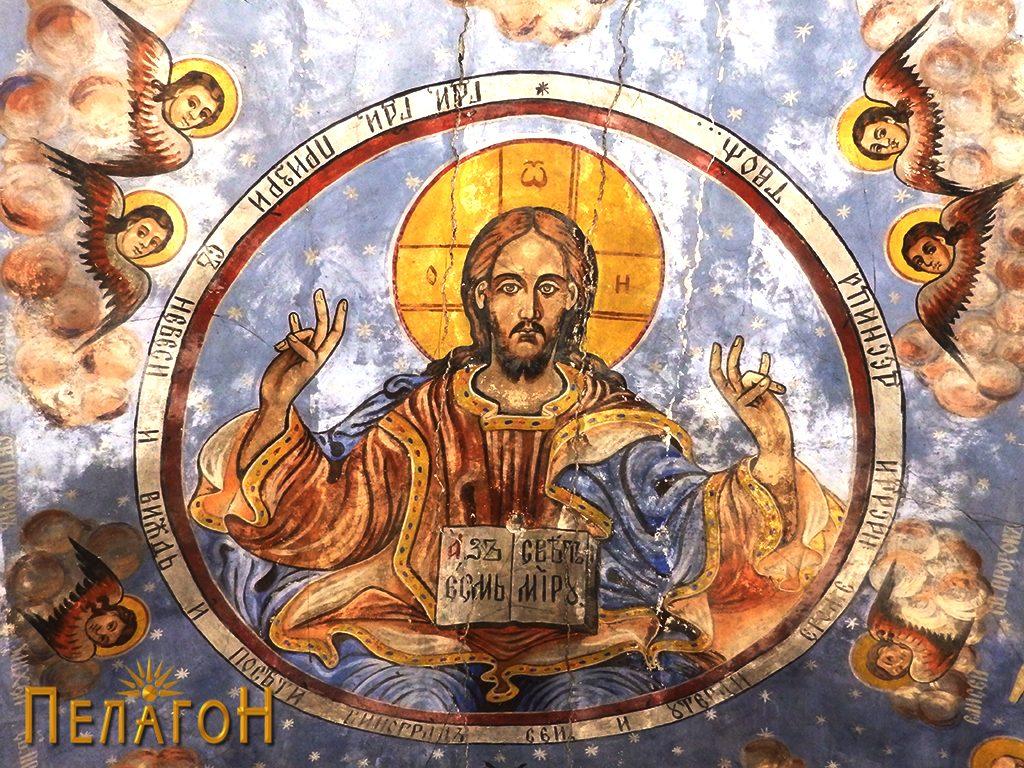 Исус Христос Седржител на сводот во црквата