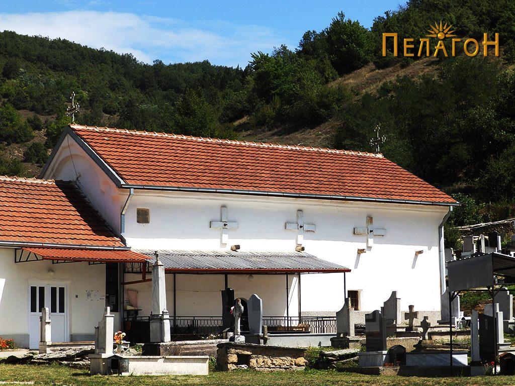 """Црквата """"Св. Никола"""" во Сопотница"""