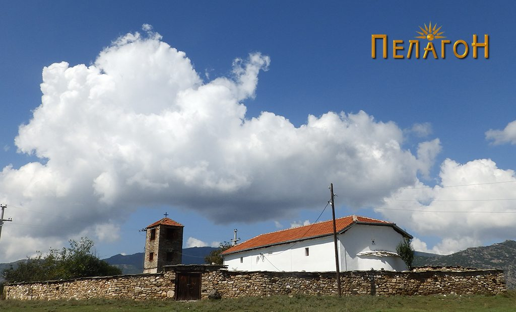 """Црквата """"Св. Димитрија"""" во селото Дуње"""