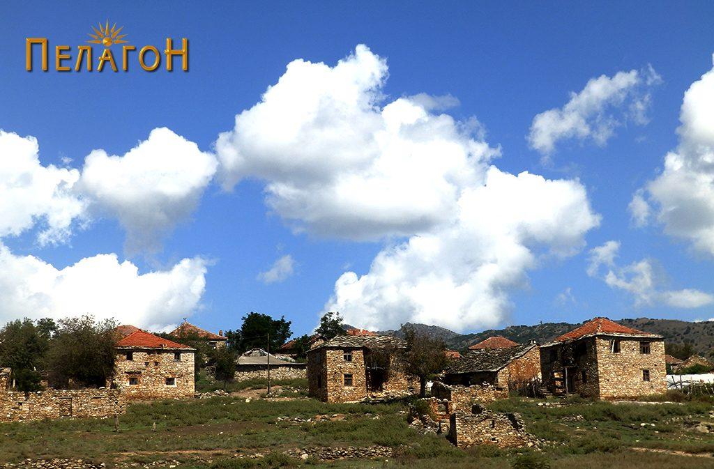 Дел од селото Дуње