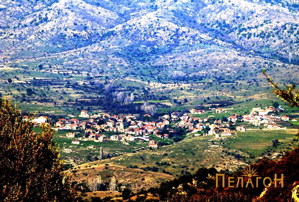 Панорама на селото Дуње