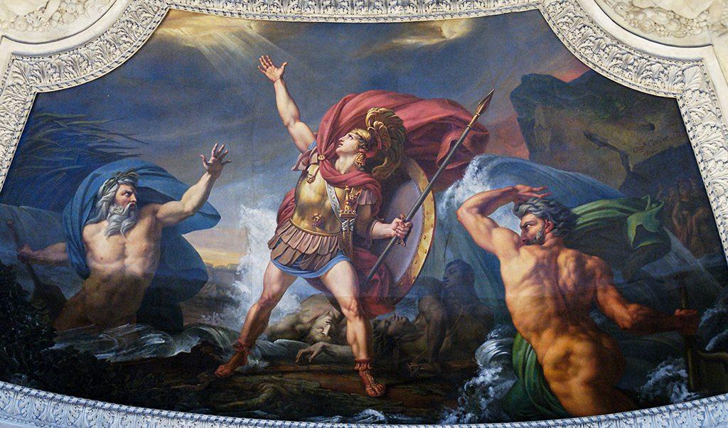 Колежот на реката Скамандар - предизвикувањето на Астеропај 2