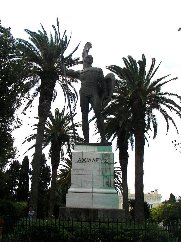 Споменик на Ахил од островот Крф (Dr.K)