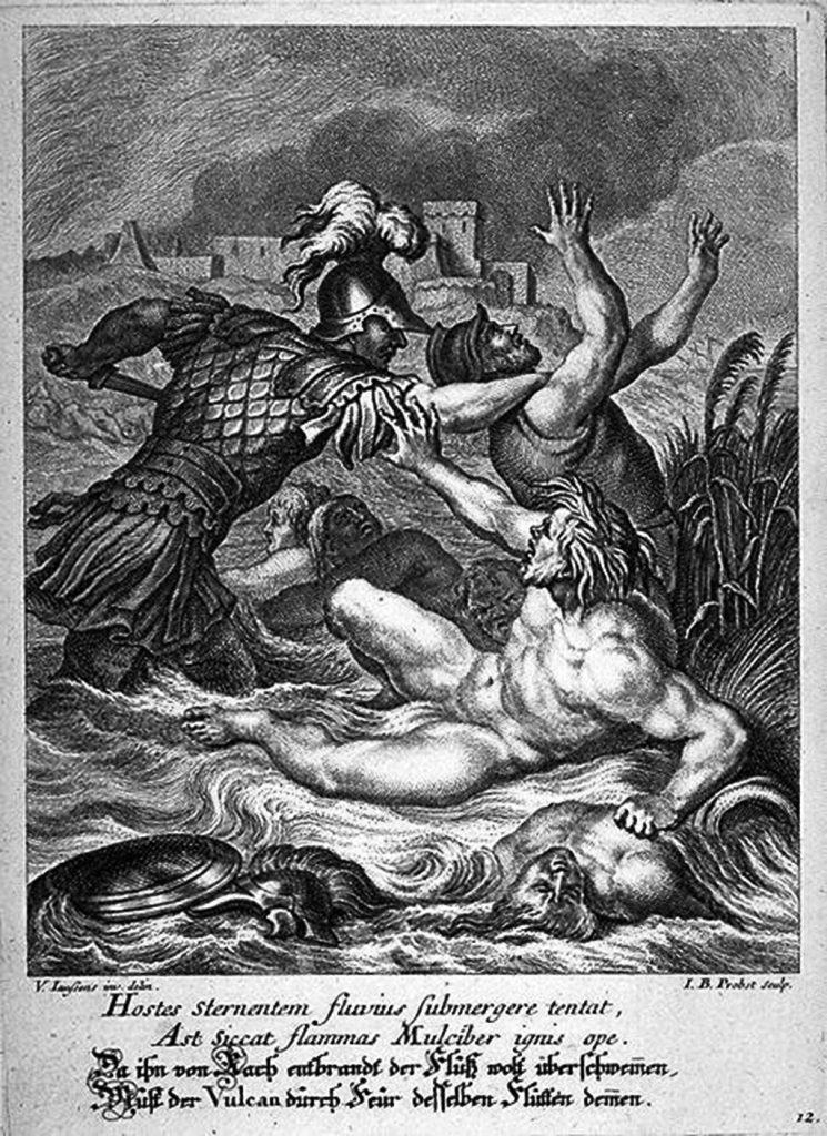 Колежот на реката Скамандар - предизвикувањето на Астеропај