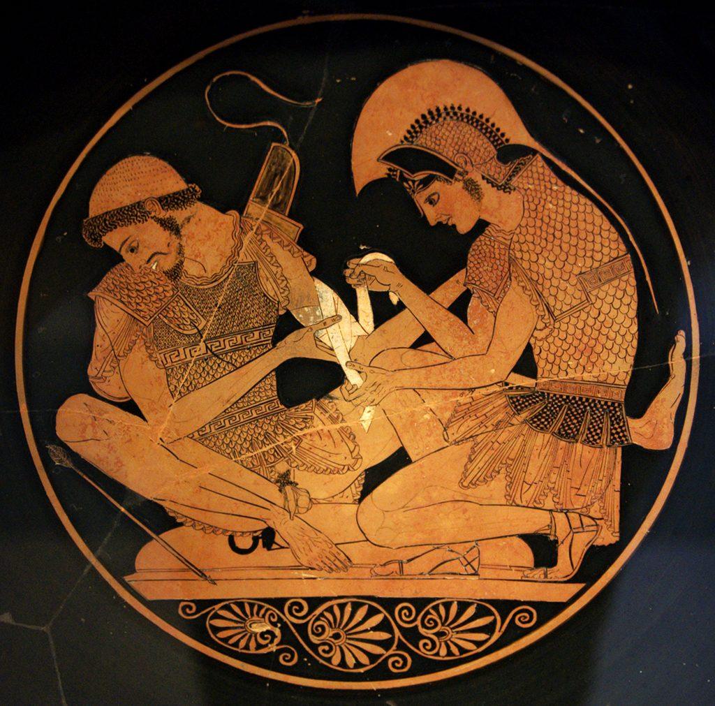 Ахил со неговиот другар Патрокло - Akhilleus_Patroklos_Antikensammlung_Berlin_F2278 - v2