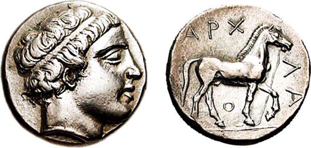 Монета од Архелај
