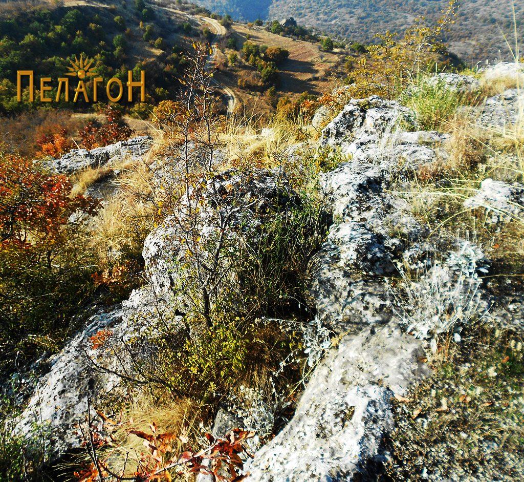 Еден од рабовите на платото кое било утврдено во праисторијата