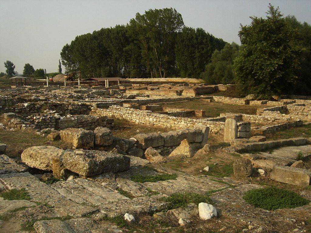 Остатоци од градот Дион