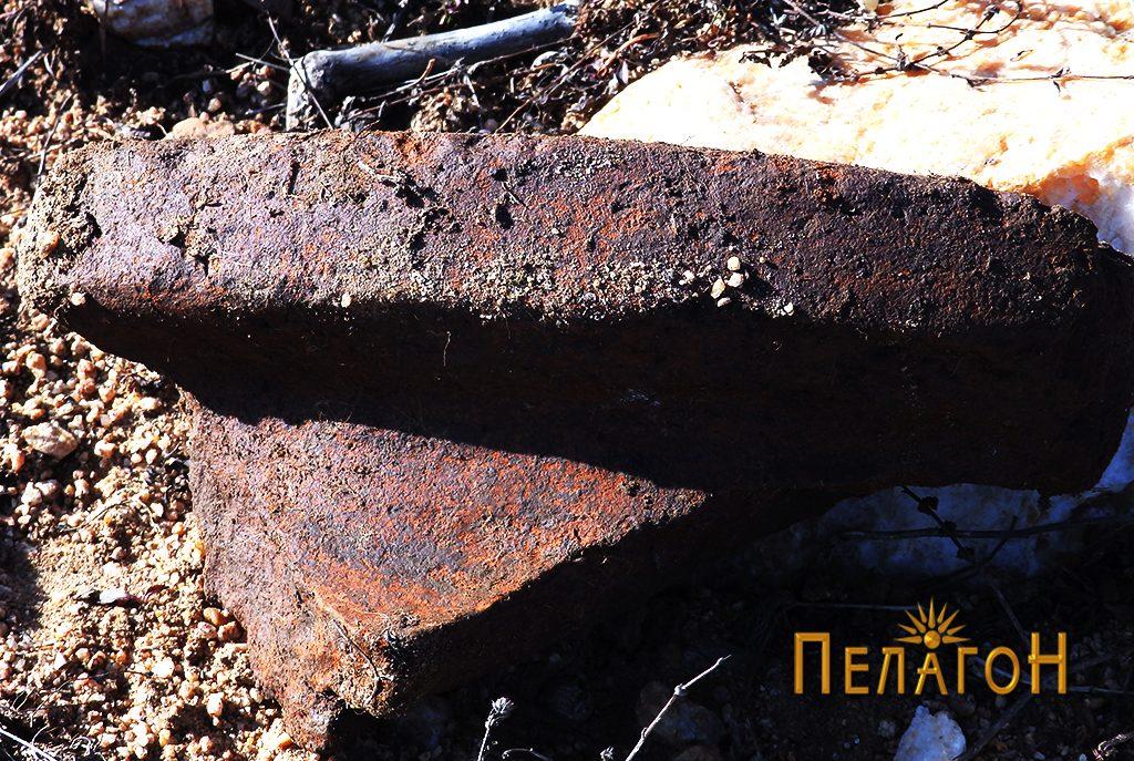 Устинка од питос кај градбата бр. 2 - 2