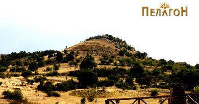 """""""Лаштигерот"""" - праисториска населба со утврдување - од север 2"""