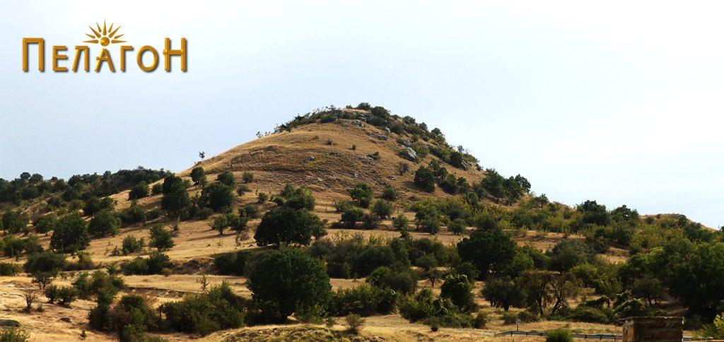 """""""Лаштигерот"""" - праисториска населба со утврдување - од север"""