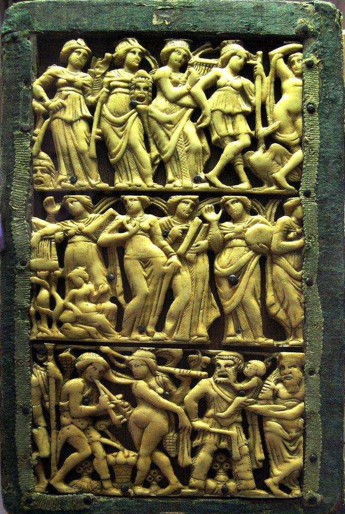 Музите - релјеф - Cabinet des MЋdailles (BNF)