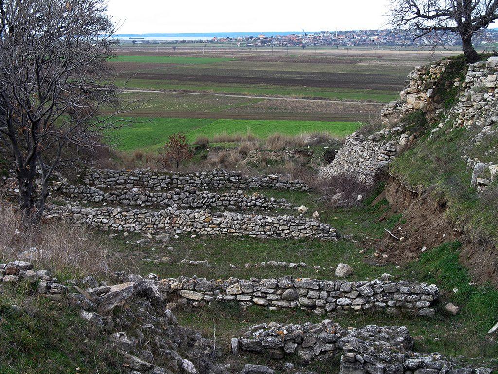 Ископини од градот Троја од времето на Хајнрих Шлиман