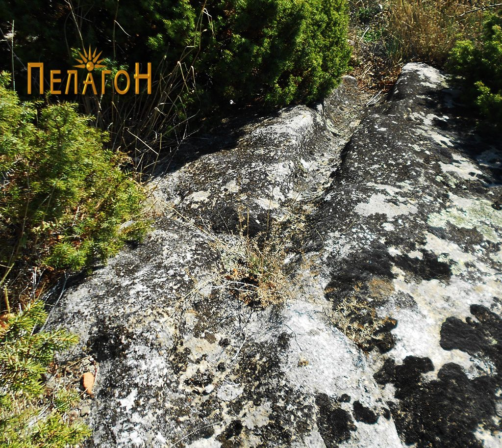 Зарежани карпи при врвот - со канали за одвод и сл.