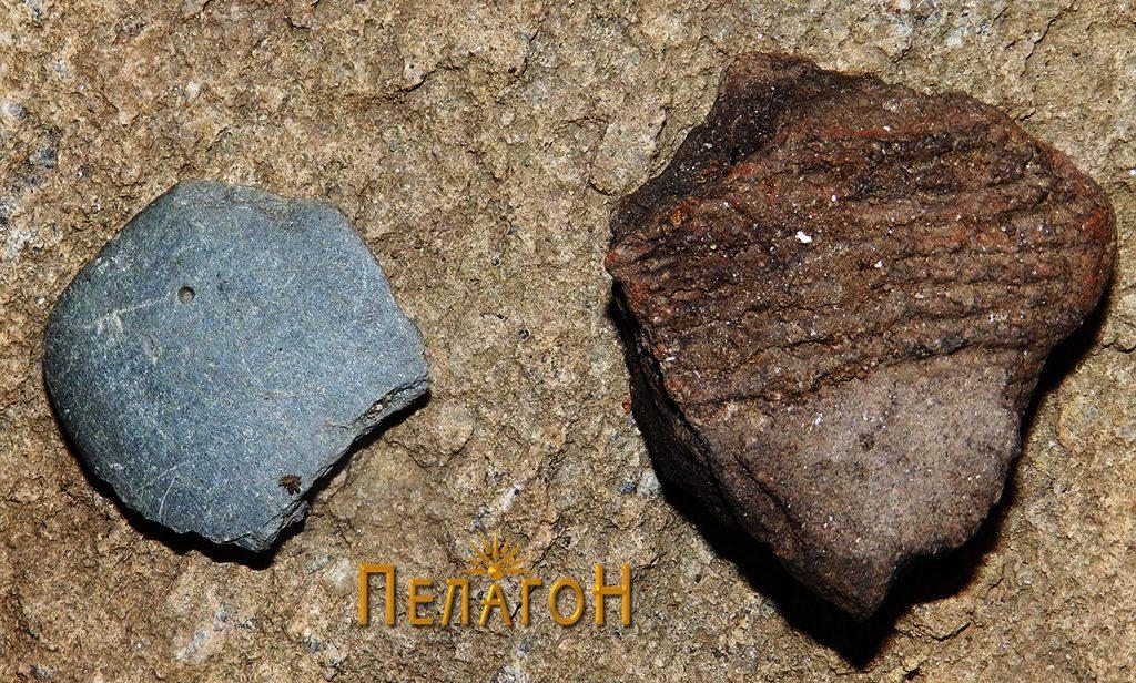Археолошки предмети од просторот на живеалиштето - фрагменти 2