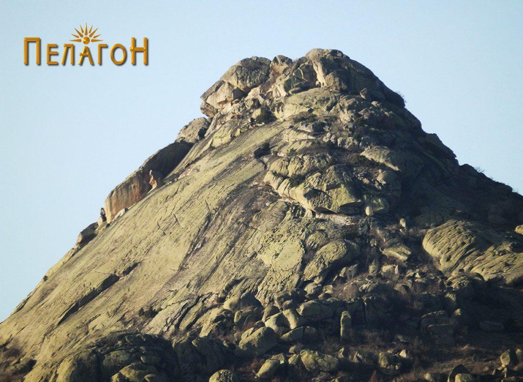 Јужниот дел од врвот