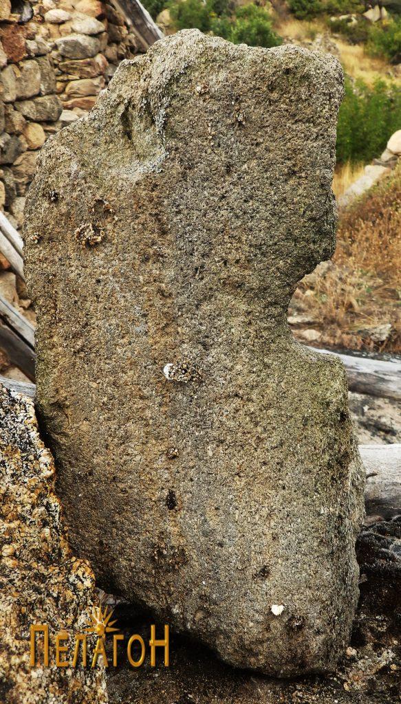 Фрагмент од камена рачна мелница 4