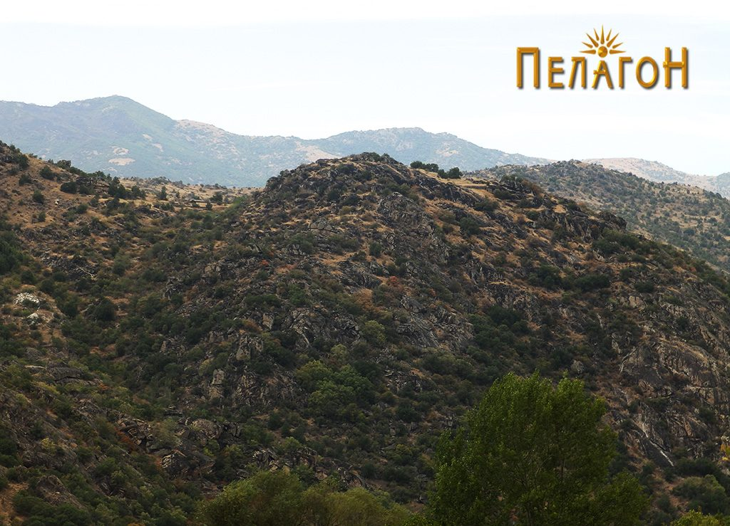 """Локалитетот """"Богданова Нива"""" - поглед од спротивниот брег на Црна Река 2"""