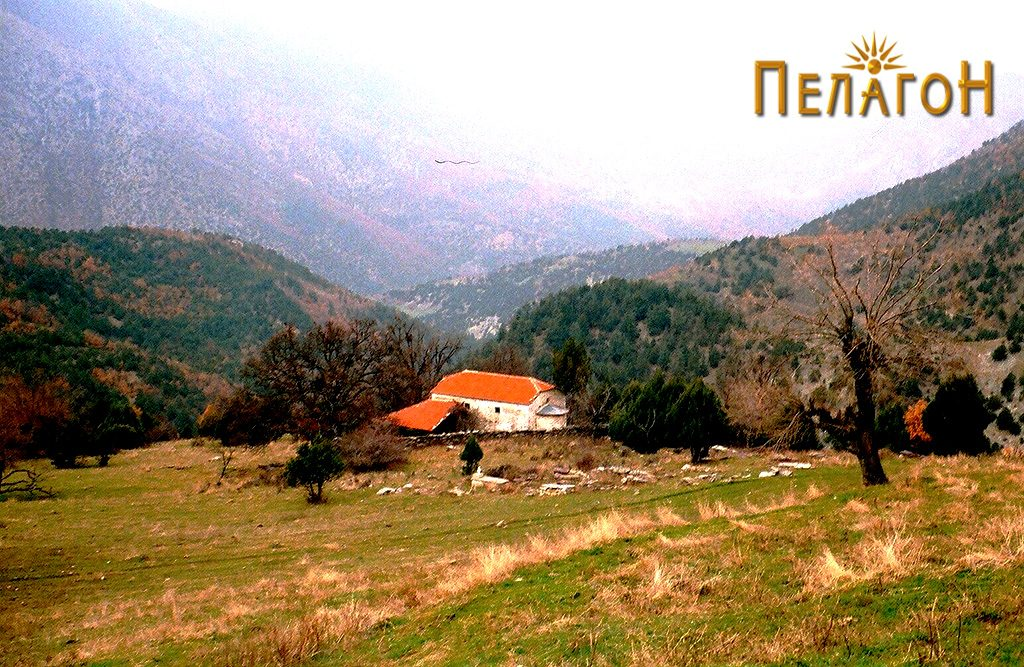 "Црквата ""Св. Архангел"" во селото Врпско"