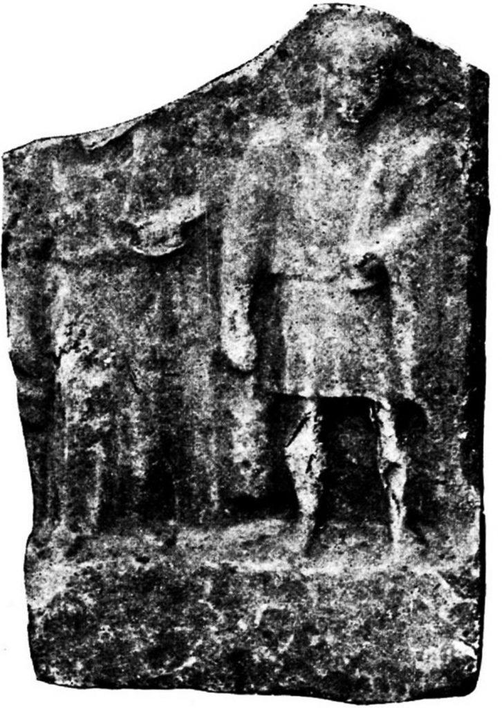 """Надгробен споменик од локалитетот """"Царацина Нива"""""""