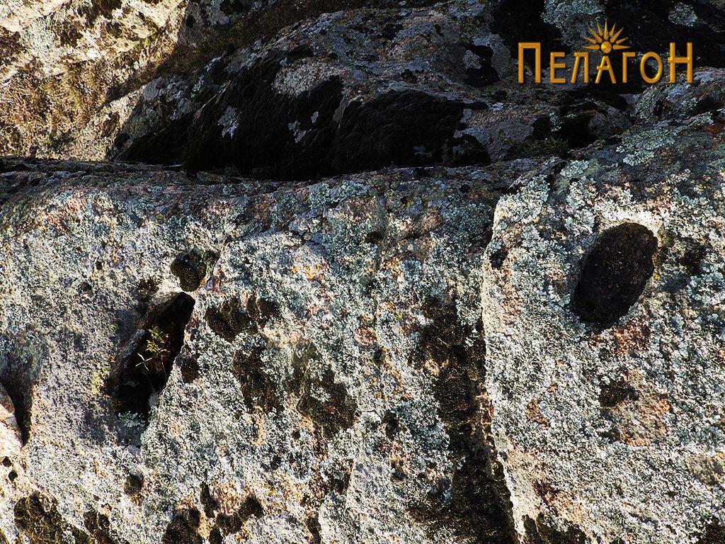 Обработени форми за конструктивна форма на карпа на ритчето од североисточната страна