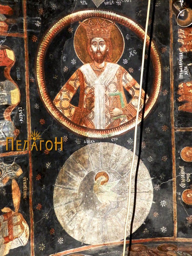 Духот божји и Исус Небесен Цар