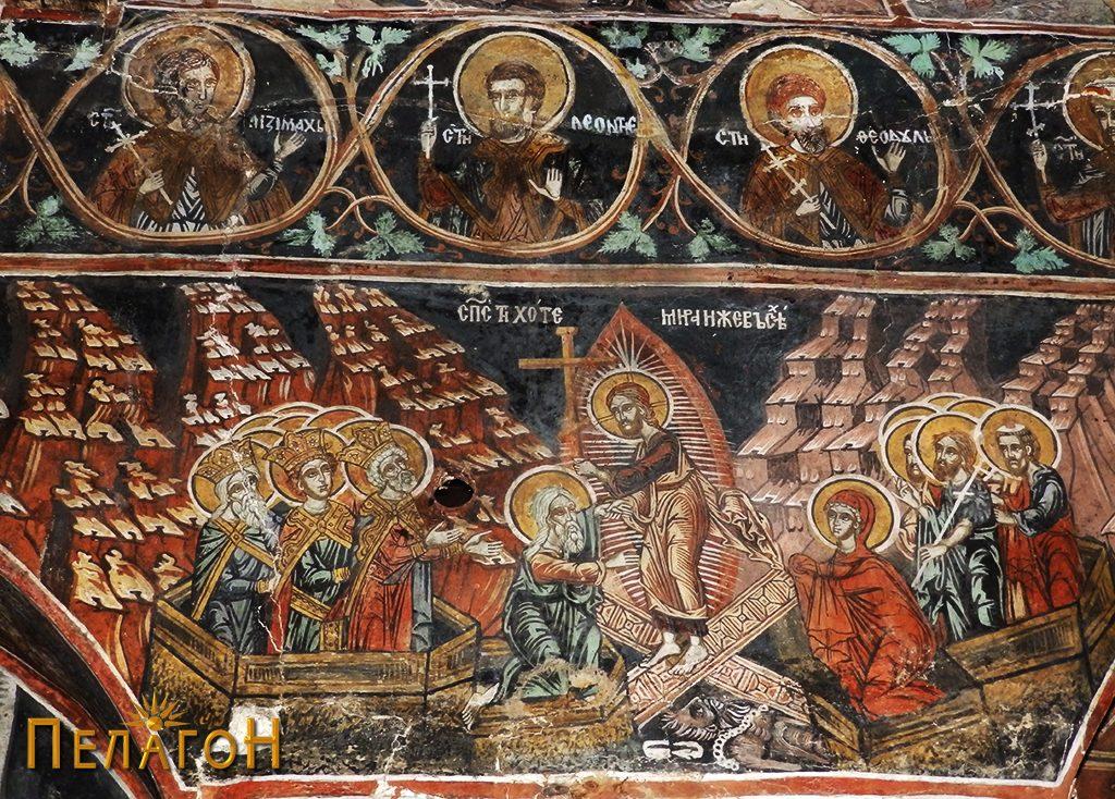 Симнувањето на Исус во пеколот