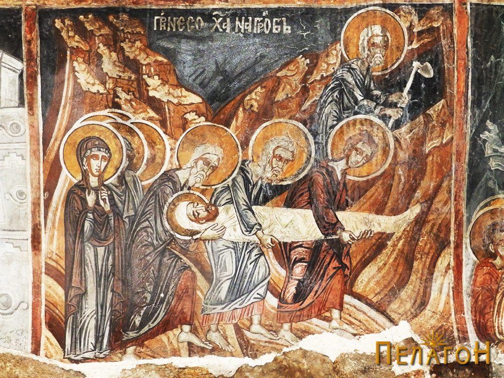 Принесувањето Христово во гробот