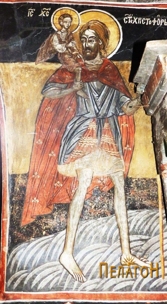 Св. Христофор со малиот Исус