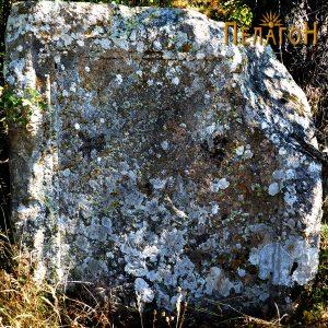"""Споменик со натпис од """"Царацина Нива"""" со термин """"Стобајон"""""""