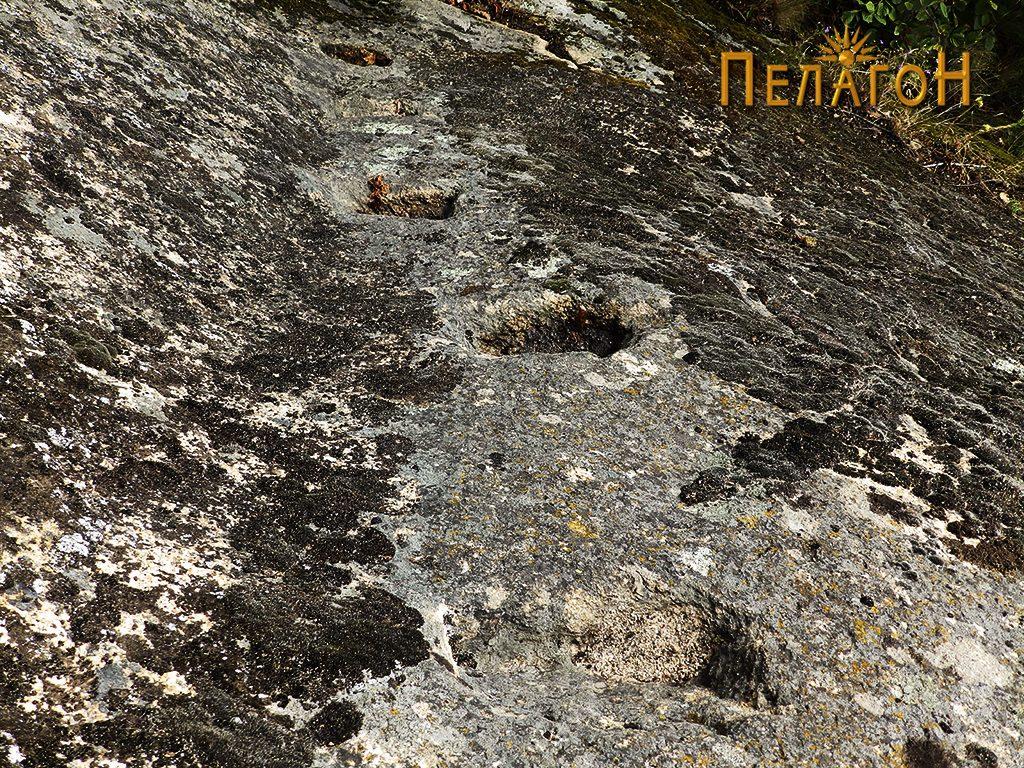 """Скали за искачување на горната површина на """"Лавот"""""""