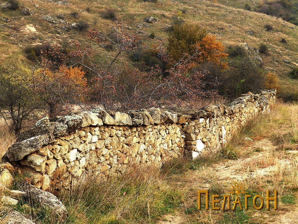 Дел од ѕидот од Ангеле 6