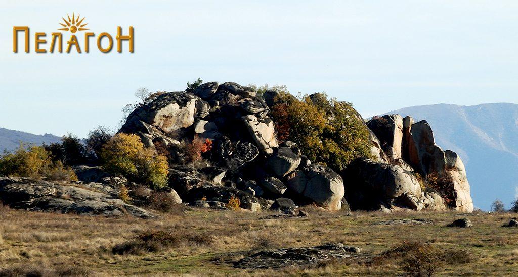 """""""Трештена Стена"""" - локалитет со праисториска култура во атарот на селото Манастир"""