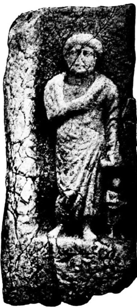 """Надгробен споменик од """"Змијов Трн"""" во близина на """"Царацина Нива"""""""