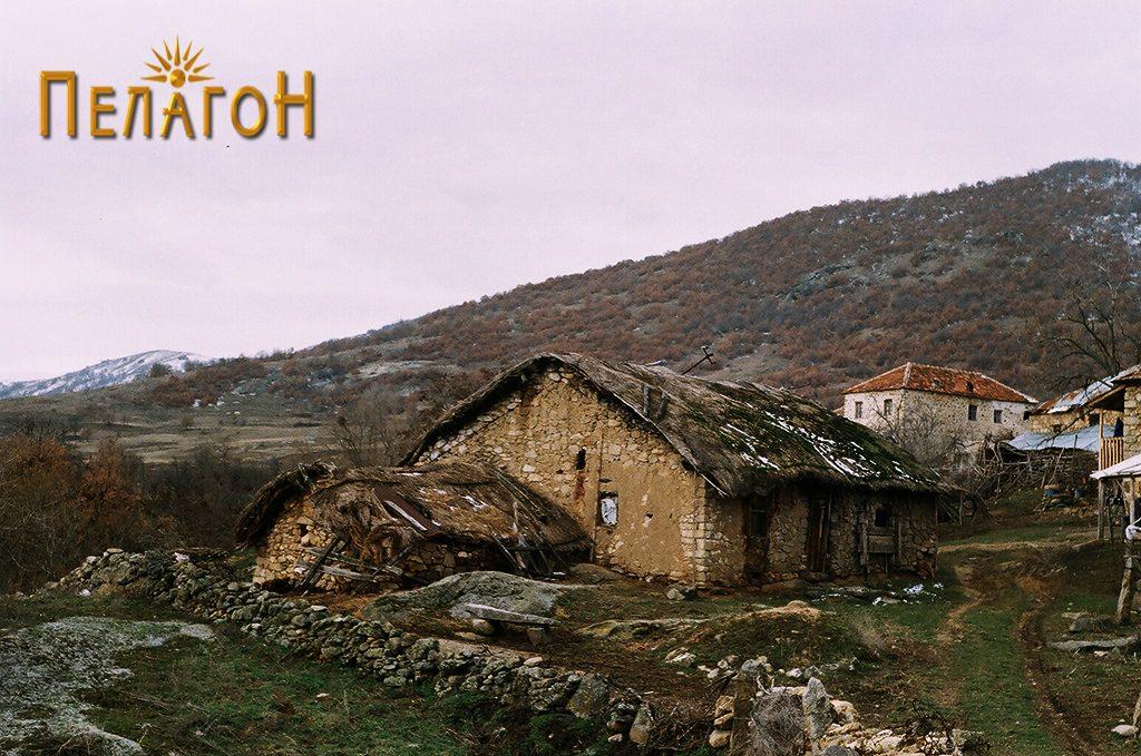 Родната куќа на Толе Паша во с. Крушевица пред да се распадне
