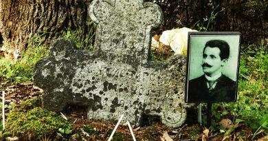 Гробот на Железарот шека на реконструкција