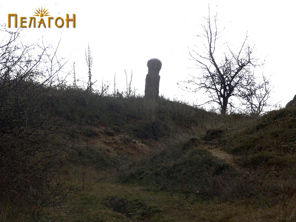 Испраен камен - од северната страна