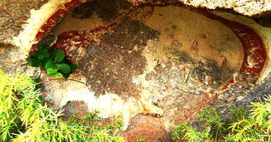 Главната ниша со остатоци од живопис