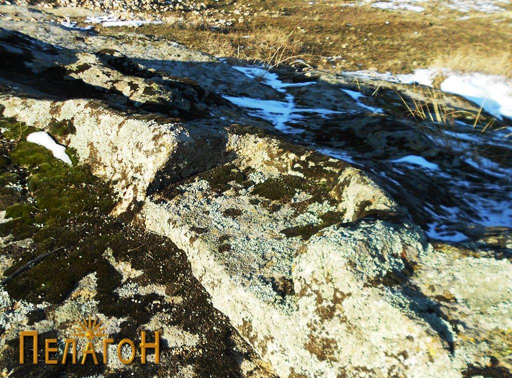 Оформне дел на пониска карпа на локалитетот