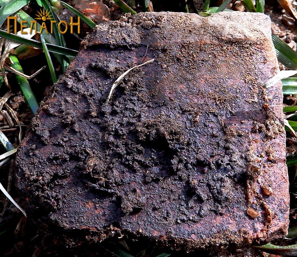 Фрагмент од керамички сад - устинка (на лице место) 2
