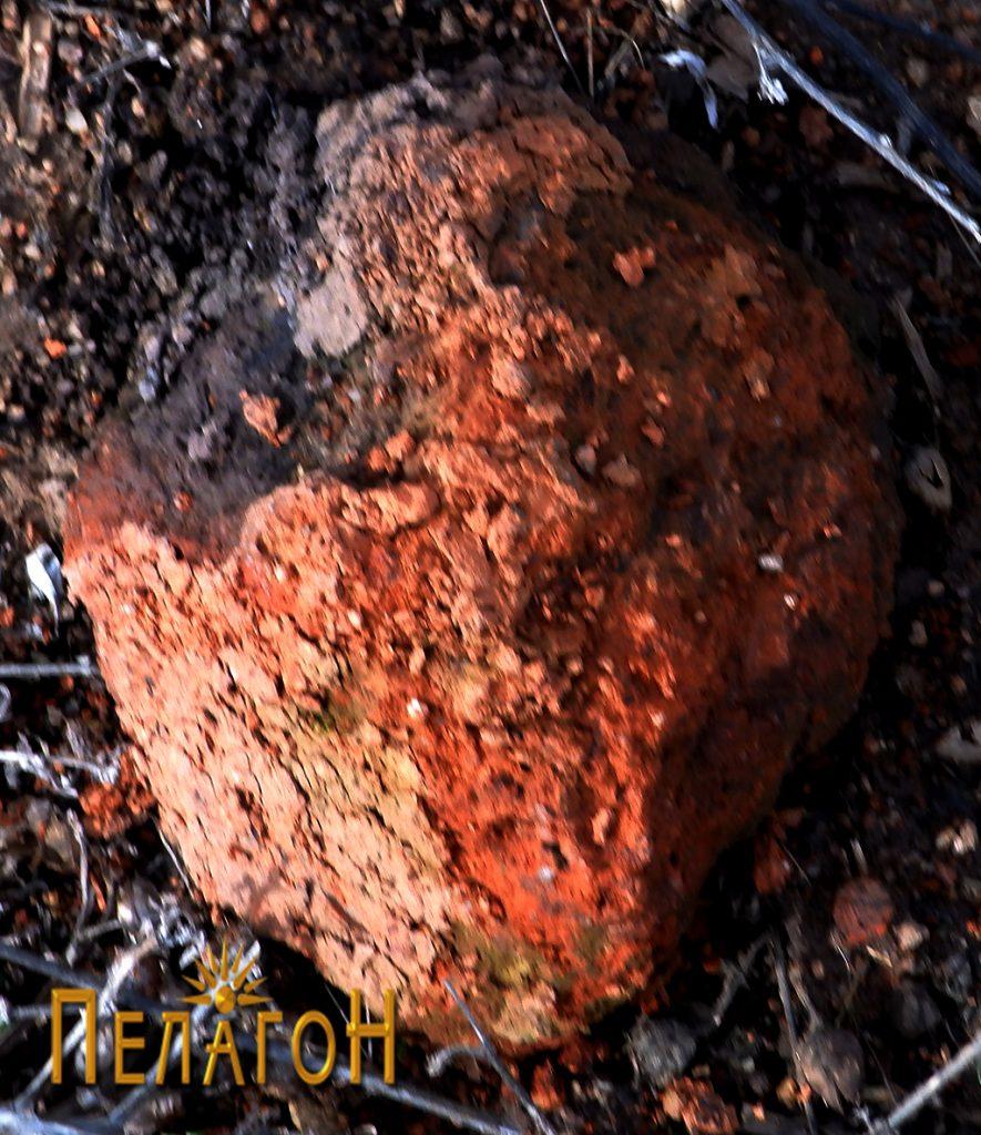 Фрагмент од поголем керамички предмет