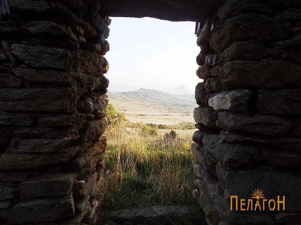 Виста - врата на јужниот ѕид