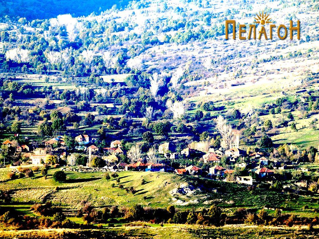 Селото Кален од југ
